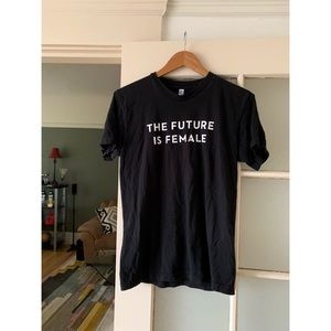 The Future Is Female Cotton Tee